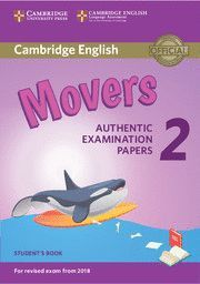 CAMBRIDGE ENGLISH MOVERS 2 STUDENT'S BOOK (REVISED EXAM 2018)
