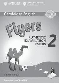 CAMBRIDGE ENGLISH FLYERS 2 ANSWER BOOKLET (REVISED EXAM 2018)