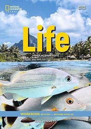 LIFE UPPER-INTERMEDIATE WORKBOOK + AUDIO CD 2E