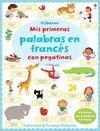 MIS PRIMERAS PALABRAS EN FRANCES CON PEGATINAS