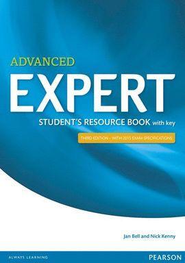 EXPERT ADVANCED STUDENT RESOURCE + KEY (3ªED)
