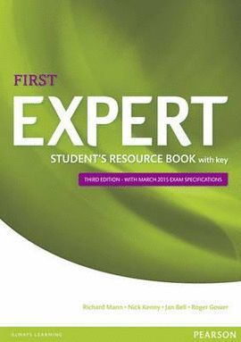 EXPERT FIRST STUDENT RESOURCE BOOK + KEY (3 ED)
