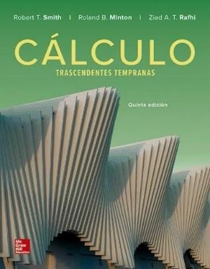 CÁLCULO CON TRASCENDENTES TEMPRANAS (5ª ED.)