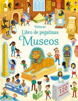 LIBRO DE PEGATINAS MUSEOS