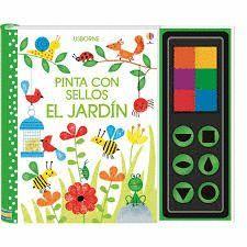 PINTA CON SELLOS EL JARDIN