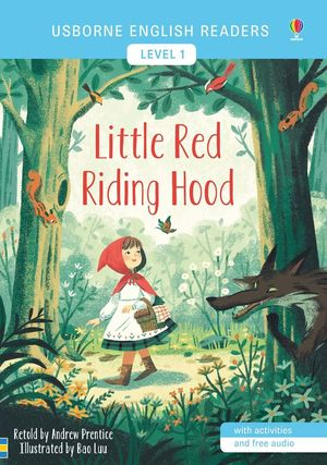 LITTLE RED RIDING HOOD (USBORNE ENGLISH READERS-1)