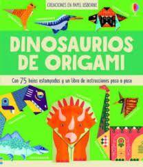 DINOSAURIOS DE ORIGAMI - CREACIONES EN PAPEL