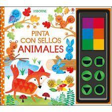 PINTA CON SELLOS ANIMALES