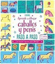 APRENDE A DIBUJAR CABALLOS Y PONIS PASO A PASO