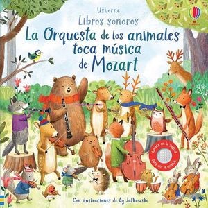 ORQUESTRA DE LOS ANIMALES TOCA MUSICA DE MOZART, LA