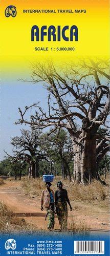 MAPA DE CARRETERES D'AFRICA - ITMB