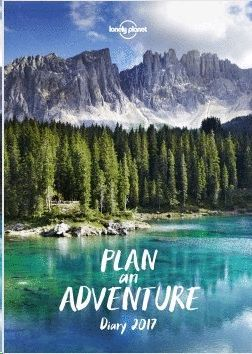 LONELY PLANET DIARY PLANER 2017