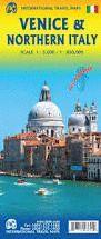 MAPA DE CARRETERES DE VENECIA, VENEZIA, VENICE & NORTHERN ITALY, ITALIA NORTE, ITALIA NORD - ITMB