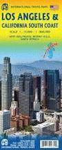 LOS ANGELES, CALIFORNIA SOUTH COAST, COSTA SUR, MAPA ITMB