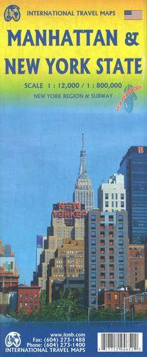 MANHATTAN & NEW YORK STATE, MAPA ITMB