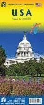MAPA DE CARRETERES DE USA, UNITED STATES, ESTADOS UNIDOS - ITMB