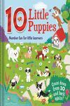 10 LITTLE PUPPIES. NUMBER FUN FOR LITTLE LEARNERS