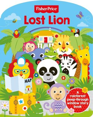LOST LION. FISHER PRICE -