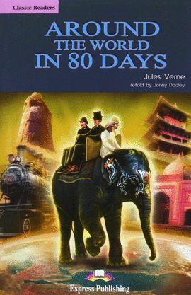 AROUND WORLD 80 DAYS+CD (LEVEL 2)