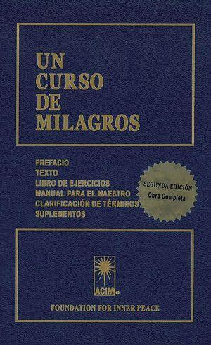 CURSO DE MILAGROS, UN (2ª ED. REVISADA)