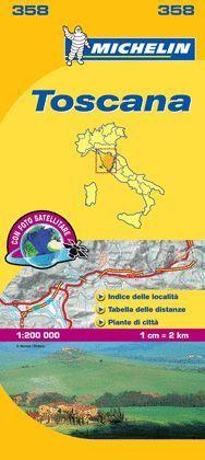 TOSCANA - MAPA LOCAL Nº 358