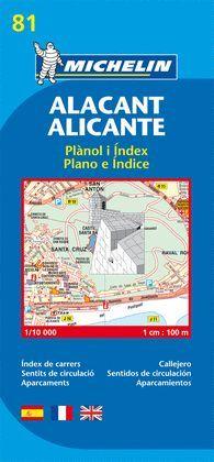 ALACANT / ALICANTE, PLANO Nº 81