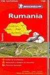 RUMANIA, MAPA NATIONAL Nº 738