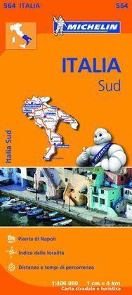 ITALIA SUD, MAPA REGIONAL Nº 564
