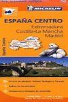 EXTREMADURA, CASTILLA-LA MANCHA, MADRID, MAPA REGIONAL Nº 576 - ESPAÑA CENTRO