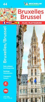 BRUXELLES/ BRUSSELS/ BRUSELAS/ BRUSEL·LES, PLANO Nº 44