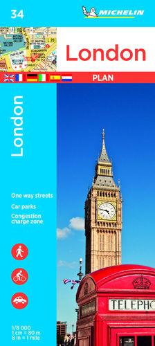 LONDON - LONDRES, PLANO Nº 34