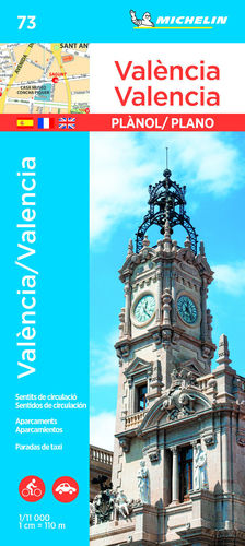 VALÈNCIA - VALENCIA, PLANOL Nº 73