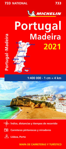 PORTUGAL - MADEIRA 2021, MAPA NATIONAL Nº 733
