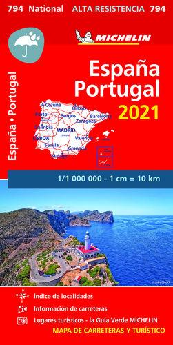 MAPA NATIONAL ESPAÑA-PORTUGAL -ALTA RESISTENCIA 2021-