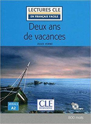DEUX ANS DE VACANCES ( LIVRE + CD AUDIO )
