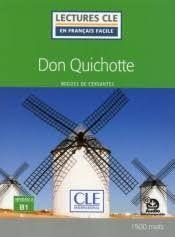 DON QUICHOTTE - NIVEAU 3/B1 - LIVRE