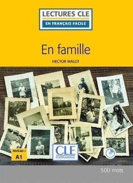 EN FAMILE ( LIVRE + CD) (NIVEAU 1 - A1)