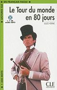 LE TOUR DU MONDE EN 80 JOURS + CD AUDIO MP3
