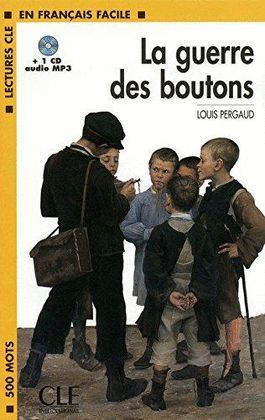GUERRE DES BOUTONS, LA + CD AUDIO MP3