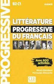 LITTÉRATURE PROGRESSIVE DU FRANÇAIS-LIVRE + CD - NIVEAU AVANCÉ