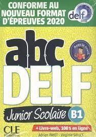 ABC DELF JUNIOR SCOLAIRE - NIVEAU B1 - LIVRE+DVD