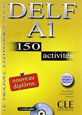 DELF A1 LIVRE + CD 150 ACTIVITES