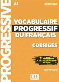 VOCABULAIRE PROGRESSIF DU FRANÇAIS. NIVEAU DEBUTANT. A1