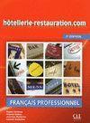 HÔTELLERIE-RESTAURATION.COM (2 ÉD.) LIVRE+CD NIVEAU INTERMÉDIAIRE