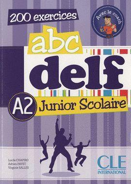 ABC DELF JUNIOR SCOLAIRE - LIVRE + CDROM