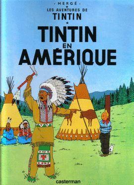 TINTIN EN AMÉRIQUE  ( FRANÇAIS )