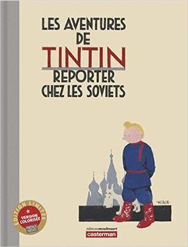 TINTIN AU PAYS DES SOVIETS - COLOR - EDICIÓN DE LUJO