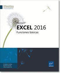 EXCEL 2016. FUNCIONES BÁSICAS