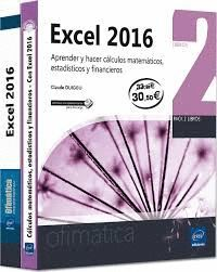 EXCEL 2016 .PACK OFIMATICA(2 VOLS)