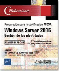 WINDOWS SERVER 2016 GESTIÓN DE LAS IDENTIDADES